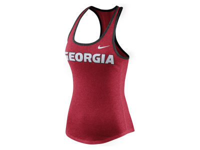 Georgia Bulldogs Nike NCAA Women's Marled Tank