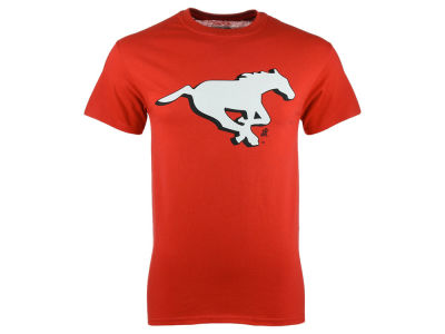Calgary Stampeders Canadian Graphics West CFL Men's Big Front T-shirt