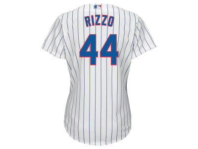 Chicago Cubs Anthony Rizzo Majestic MLB Women's Cool Base Player Replica Jersey