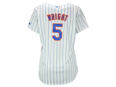 New York Mets David Wright Majestic MLB Women's Cool Base Player Replica Jersey