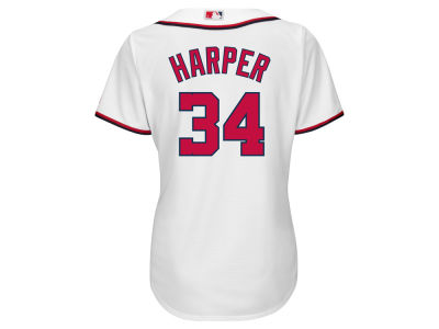 Washington Nationals Bryce Harper MLB Women's Cool Base Player Replica Jersey