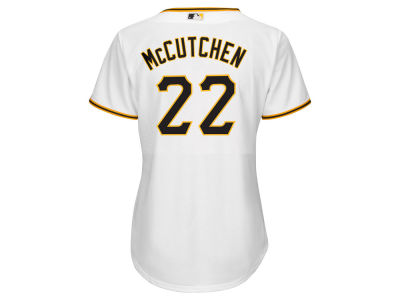 Pittsburgh Pirates Andrew McCutchen MLB Women's Cool Base Player Replica Jersey