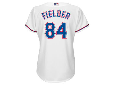 Texas Rangers Prince Fielder MLB Women's Cool Base Player Replica Jersey