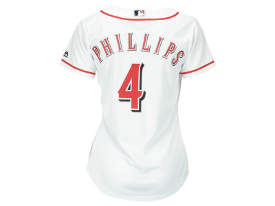 Cincinnati Reds Brandon Phillips MLB Women's Cool Base Player Replica Jersey