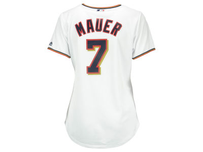 Minnesota Twins Joe Mauer Majestic MLB Women's Cool Base Player Replica Jersey