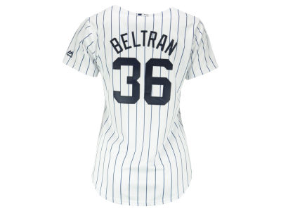 New York Yankees Carlos Beltran MLB Women's Cool Base Player Replica Jersey