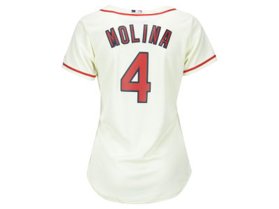 St. Louis Cardinals Yadier Molina MLB Women's Cool Base Player Replica Jersey