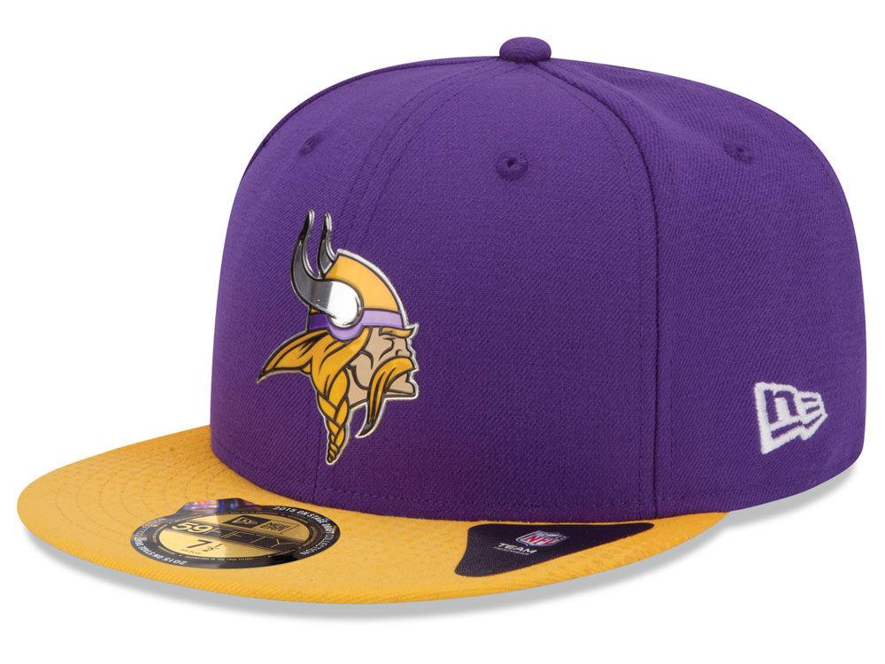 Minnesota Vikings New Era 2015 NFL Draft On Stage 59FIFTY Cap  18e8c802a