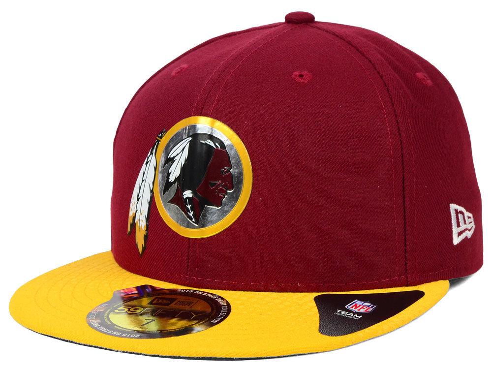 Washington Redskins New Era 2015 NFL Draft On Stage 59FIFTY Cap ... b62009913