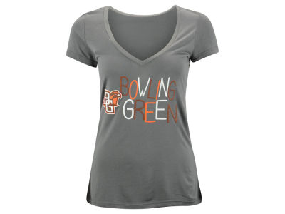 Bowling Green Falcons Blue 84 NCAA Womens Magic Liquid T-Shirt