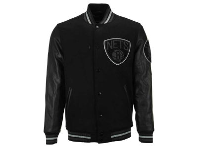 Brooklyn Nets NBA Men's Bogue II Varsity Jacket
