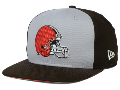 Cleveland Browns New Era NFL 2015 Draft Gray 9FIFTY Snapback Cap