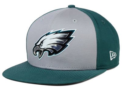 Philadelphia Eagles New Era NFL 2015 Draft Gray 9FIFTY Snapback Cap
