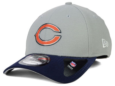 Chicago Bears New Era 2015 NFL Draft Gray 39THIRTY Cap