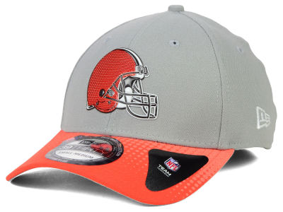 Cleveland Browns New Era 2015 NFL Draft Gray 39THIRTY Cap