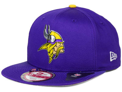 Minnesota Vikings New Era 2015 NFL Draft 9FIFTY Original Fit Snapback Cap