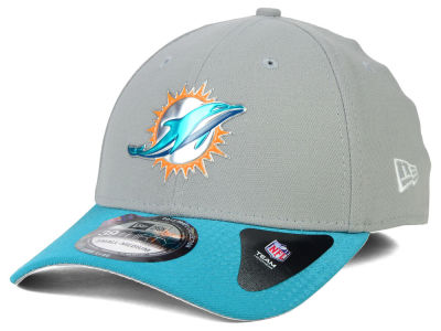 Miami Dolphins New Era 2015 NFL Draft Gray 39THIRTY Cap