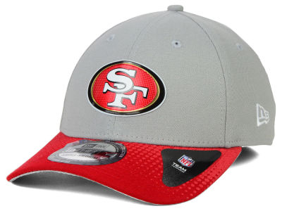 San Francisco 49ers New Era 2015 NFL Draft Gray 39THIRTY Cap