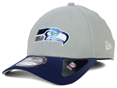 Seattle Seahawks New Era 2015 NFL Draft Gray 39THIRTY Cap