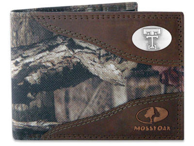 Texas Tech Red Raiders Mossy Oak Bifold Wallet