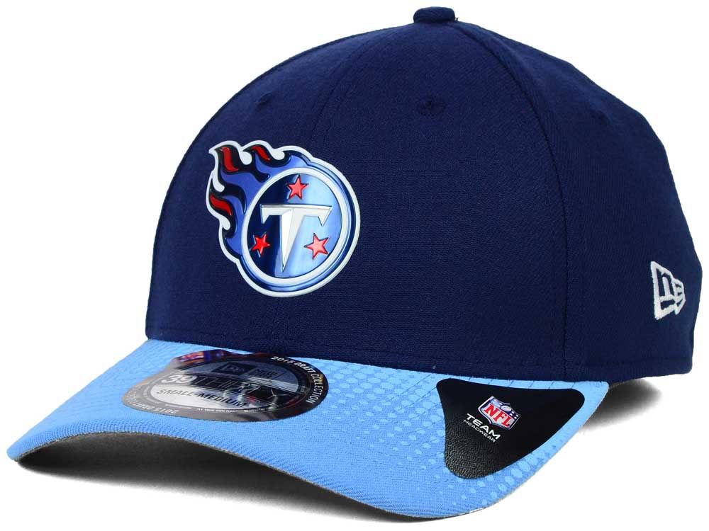 f6338d6cd ... tennessee titans new era 2015 nfl draft 39thirty cap