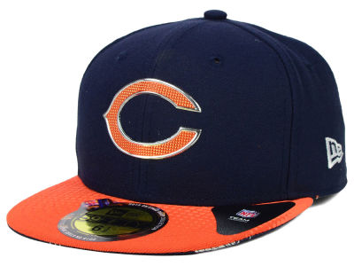 Chicago Bears New Era 2015 NFL Kids Draft On Stage 59FIFTY Cap