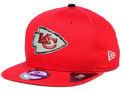 Kansas City Chiefs New Era 2015 NFL Kids Draft 9FIFTY Original Fit Snapback Cap