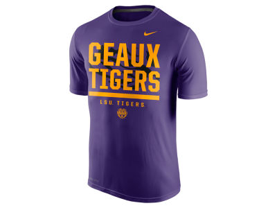 LSU Tigers Nike NCAA Men's Legend Local Verbiage T-Shirt