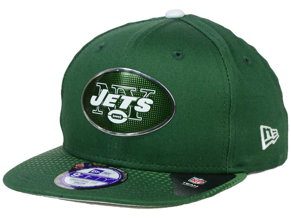 best cheap 3505f 000a3 ... discount code for new york jets new era 2015 nfl kids draft 9fifty  original fit snapback