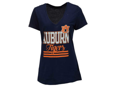 Auburn Tigers adidas NCAA Women's 3 Stripe Stack T-Shirt