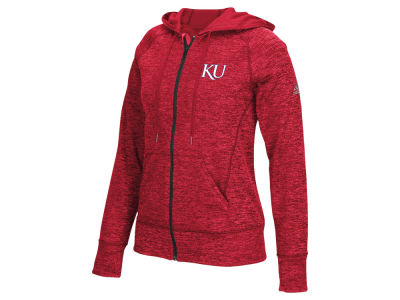 Kansas Jayhawks adidas NCAA Women's Primary Logo Full Zip Hoodie