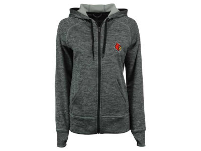 Louisville Cardinals adidas NCAA Women's Primary Logo Full Zip Hoodie