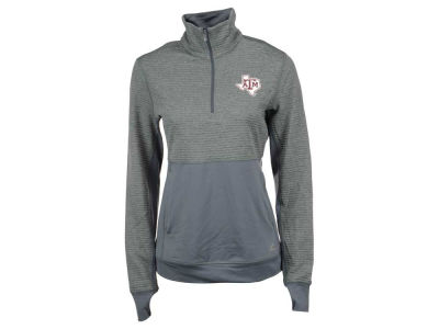 Texas A&M Aggies adidas NCAA Women's Logo Driven 1/4 Zip Pullover Shirt