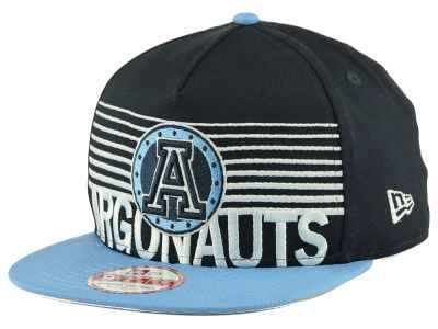 Toronto Argonauts New Era CFL Strike Stack 9FIFTY Snapback Cap