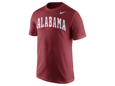 Alabama Crimson Tide Nike NCAA Men's Cotton Wordmark T-Shirt