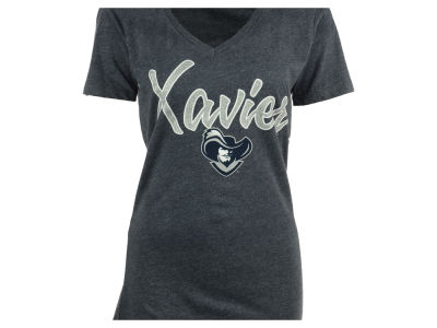 Xavier Musketeers NCAA Womens Hugo Vneck T-Shirt 2014