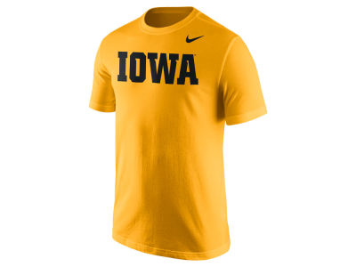 Iowa Hawkeyes Nike NCAA Men's Cotton Wordmark T-Shirt