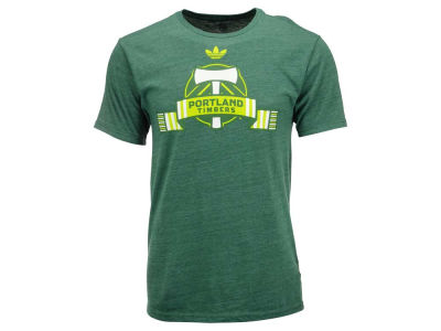 Portland Timbers adidas MLS Men's Scarves Up T-Shirt