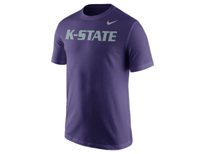 Kansas State Wildcats Nike NCAA Men's Cotton Wordmark T-Shirt