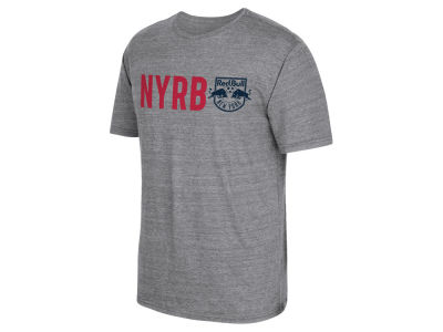 New York Red Bulls adidas MLS Men's Fat Stack T-Shirt