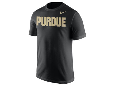 Purdue Boilermakers Nike NCAA Men's Cotton Wordmark T-Shirt