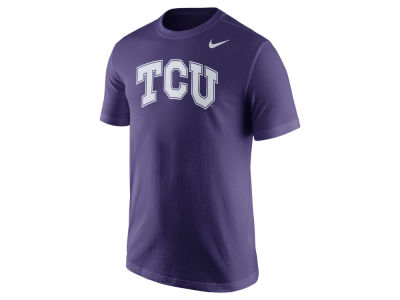 Texas Christian Horned Frogs Nike NCAA Men's Cotton Wordmark T-Shirt