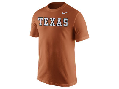 Texas Longhorns Nike NCAA Men's Cotton Wordmark T-Shirt