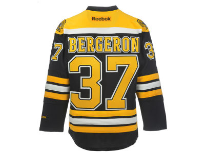 Boston Bruins Patrice Bergeron Reebok NHL CN PT Premier Player Jersey