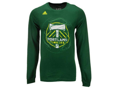 Portland Timbers adidas MLS Men's Prime Time II Long Sleeve T-Shirt