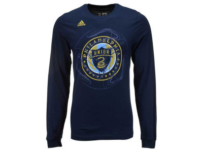 Philadelphia Union adidas MLS Men's Prime Time II Long Sleeve T-Shirt