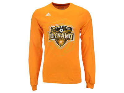 Houston Dynamo adidas MLS Men's Prime Time II Long Sleeve T-Shirt