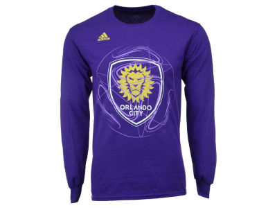Orlando City SC adidas MLS Men's Prime Time II Long Sleeve T-Shirt