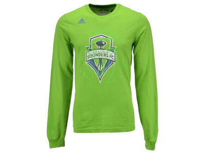 Seattle Sounders FC adidas MLS Men's Prime Time II Long Sleeve T-Shirt