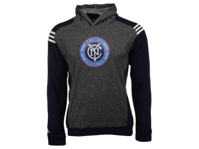 New York City FC MLS Youth 3 Stripe Shoulder Hoodie